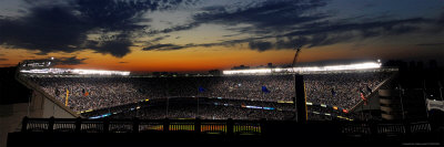 New York Yankee Stadium Finale Game, New York, NY Photographic Print