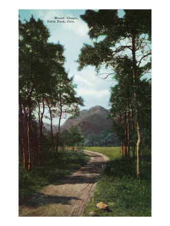 Rocky Mountain National Park, Colorado, View of Mount Chapin, Estes Park Art by  Lantern Press