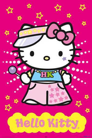 [Hello kitty in kimono clipart