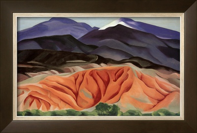 Black Mesa Landscape, Outside of Marie's Prints by Georgia O'Keeffe