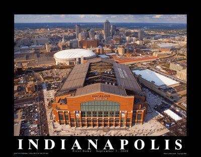 Lucas Oil Stadium - Indianapolis Colts Art Print