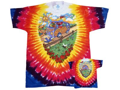 Grateful Dead - Summer Tour Bus Shirts