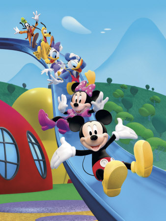 Mickey mouse clubhouse friends equals fun tablo for Classic full house quotes