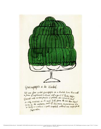 Wild Raspberries, c.1959  (green) Plakater af Andy Warhol