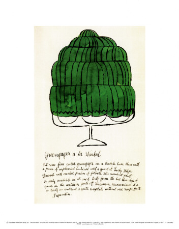 Wild Raspberries, c.1959  (green) Stampe di Andy Warhol