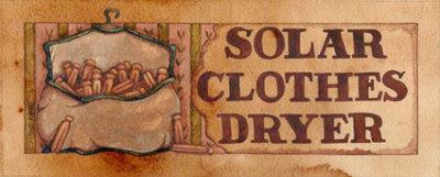 Solar Clothes Dryer Lámina