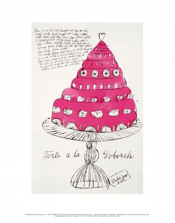 Wild Raspberries, c.1959  (pink) Poster di Andy Warhol