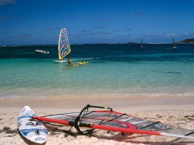 Baie de l'Embouchure, St. Martin, Caribbean Photographic Print by Greg Johnston