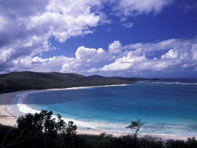 Soni Beach on Culebra Island, Puerto Rico Photographic Print by Michele Molinari