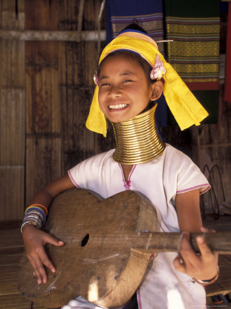 Long Neck Girl, Thailand Photographic Print by Gavriel Jecan