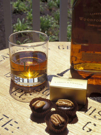 Labrot and Graham Distillery, Bourbon and Pecan Chocolate, Kentucky, USA Photographic Print by Michele Molinari