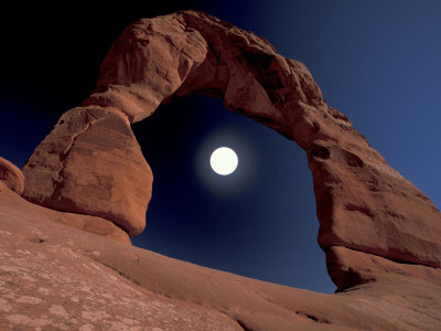 Delicate Arch, Arches National Park, Utah, USA Lámina fotográfica por Art Wolfe