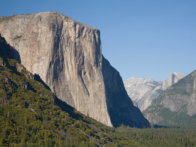 El Capitan with Clouds Rest and Half Dome. Yosemite National Park, CA Photographic Print by Jamie & Judy Wild