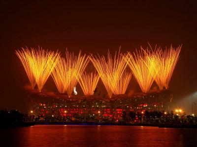Beijing Olympics Closing Ceremony, Bird's Nest, Beijing, China Photographic Print