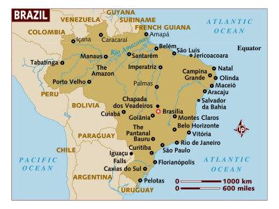 Brazil Maps