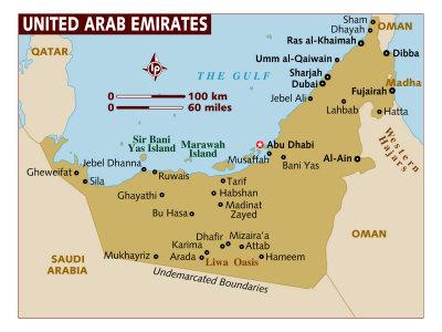 UAE Maps
