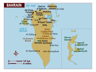 Bahrain Maps