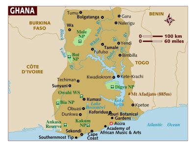 Ghana Maps