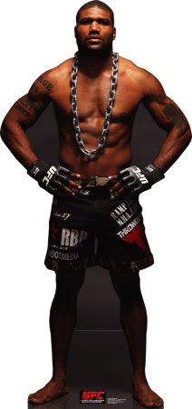 UFC- Rampage Jackson Cardboard Cutouts