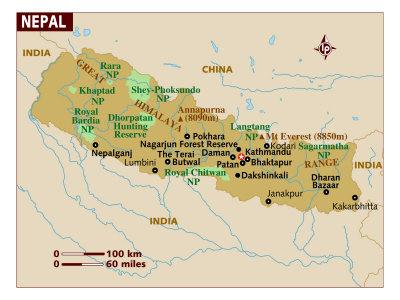 Nepal Maps