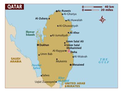 Qatar Maps