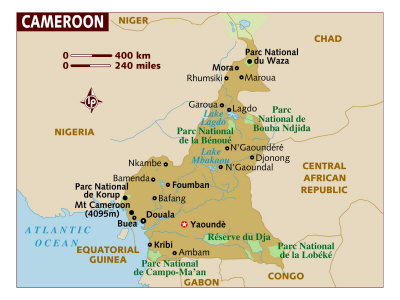 Cameroon Maps