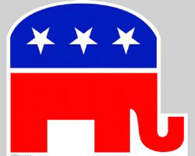 Republican Elephant Lifesize Standup Cardboard Cutouts
