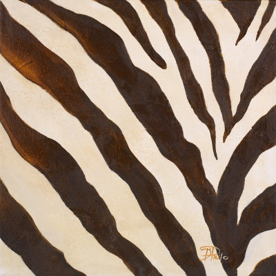 Contemporary Zebra III Prints by Patricia Quintero-Pinto