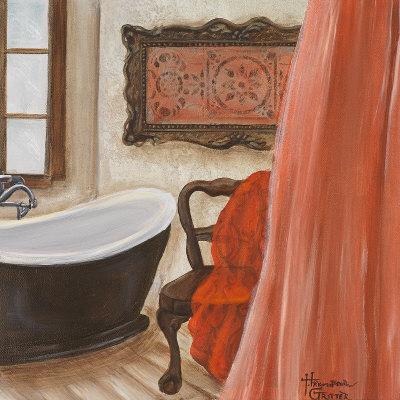 Salle de bain antique i posters par hakimipour ritter sur for Poster pour salle de bain