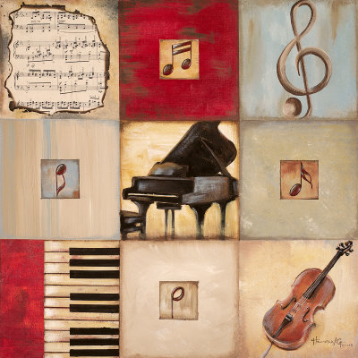 Feel the Music II Reproduction d'art