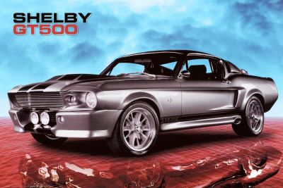 Ford Shelby Plakat