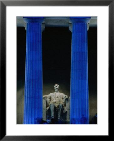 The Lincoln Memorial Statue. The Lincoln Memorial Statue