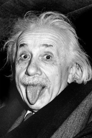Einstein - Tongue Posters