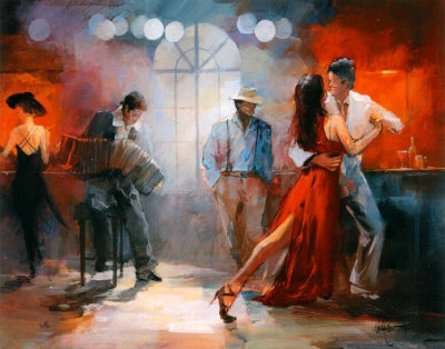 Tango Reproduction d'art