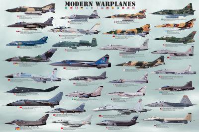 Modern Warplanes Prints