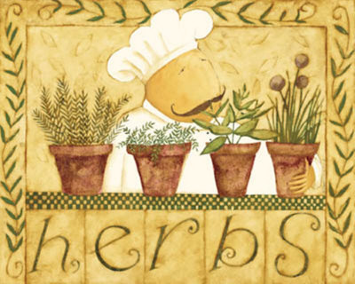 Herbs Poster by Dan Dipaolo