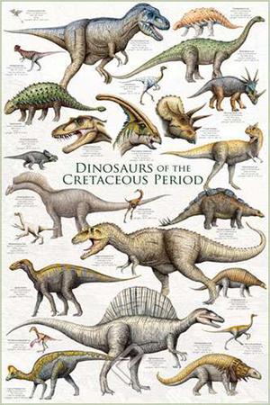 Dinosaurs - Cretaceous Period Photo