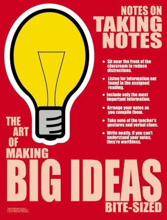 Big Ideas Posters