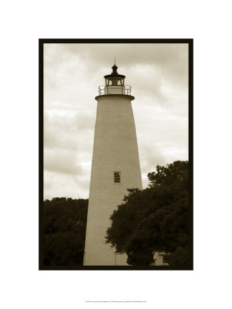 Ocracoke Island Lighthouse Limited Edition by Jason Johnson