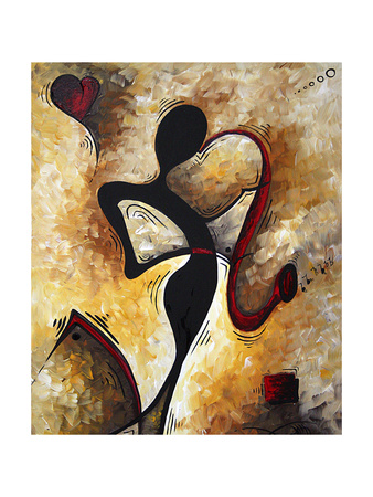 For The Love Of Music Print by Megan Aroon Duncanson