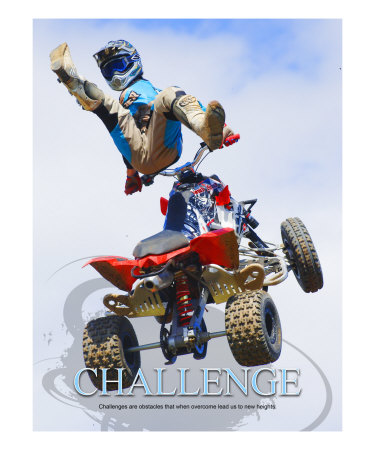 Challenge Photographic Print by Harry Starr