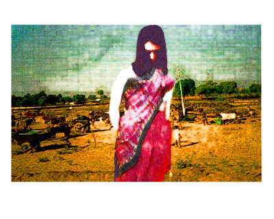 Rural Scene In India Giclee Print