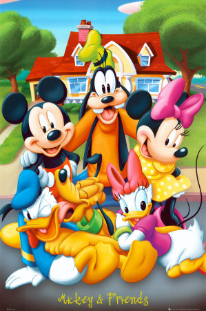 Mickey Mouse & Friends Poster