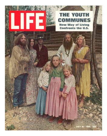 The Youth Communes, New way of Living Confronts the U.S., July 18, 1969 Photographic Print by John Olson