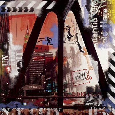 New York Ferry Kunstdrucke von Vincent Gachaga