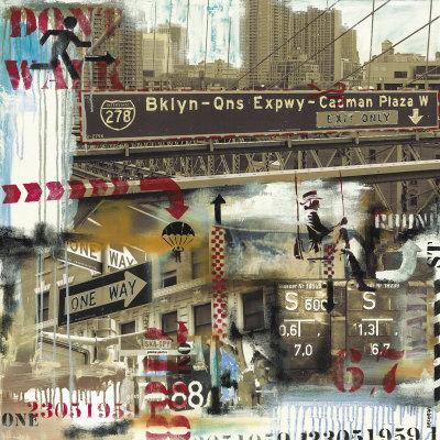 Brooklyn 278 Print by Vincent Gachaga