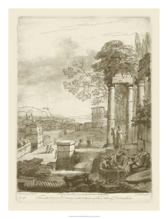 Pastoral View II Giclee Print by Claude Lorrain