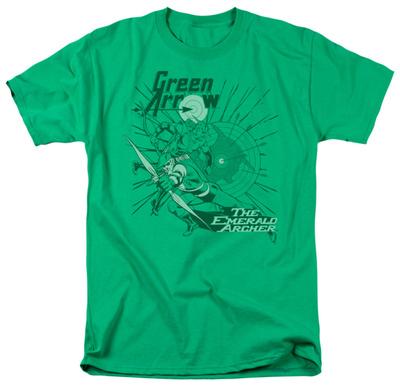DC Comics - Green Arrow - The Emerald Archer T-shirts