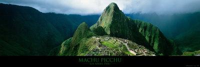 Machu Picchu, Andes, Peru Posters af Mark Segal