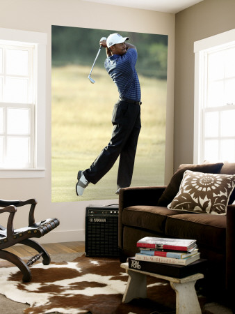 Tiger Woods Wall Mural